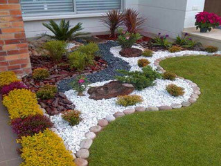 7 Natural Stone #Pebble Projects For Every Home                                            #naturalS