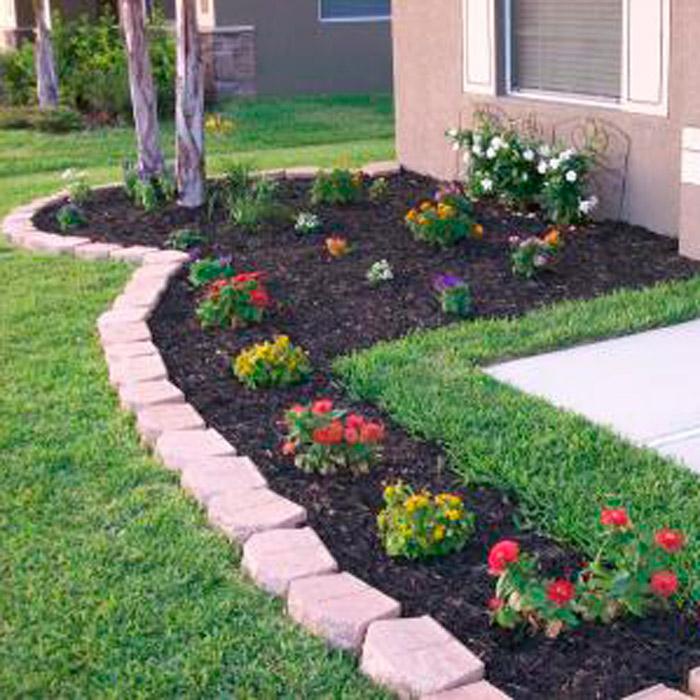 Cheap Landscaping Ideas Gardening Landscaping Mulching Mulch
