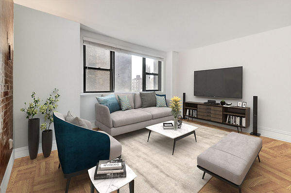 315 East 72nd Street #12F - Living Room.