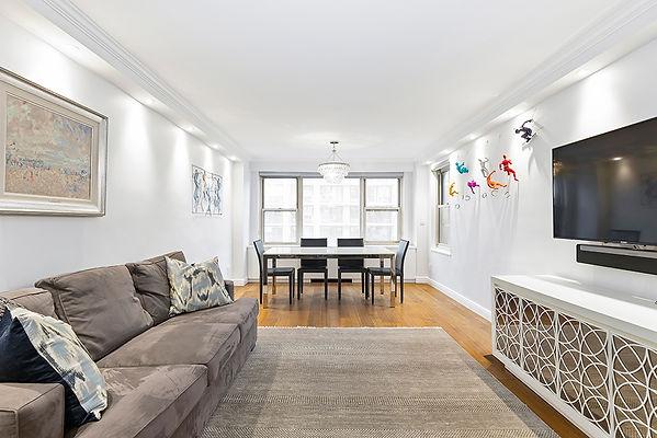 400 East 85th Street 12F - Living Room.j