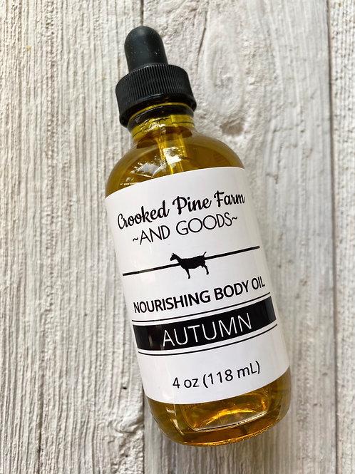 Autumn Body Oil