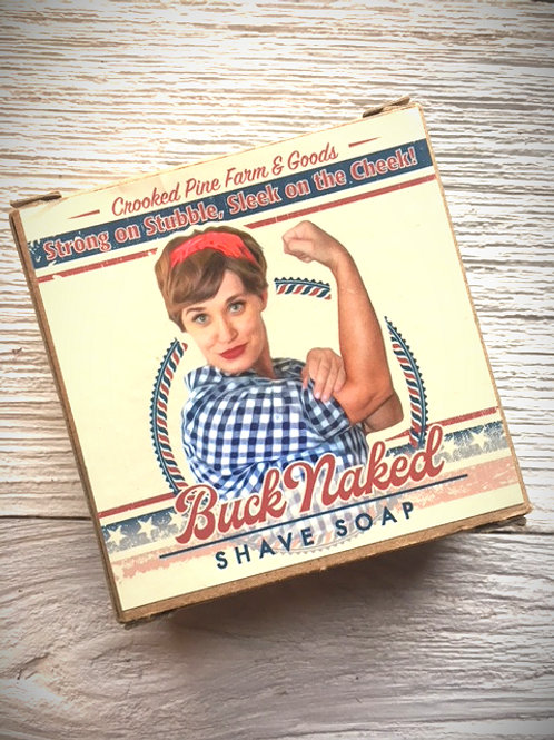 Buck Naked Shave Soap