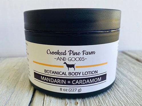 Botanical Body Lotion Mandarin Cardamom