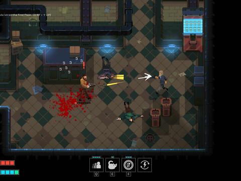 Disjunction - ein Cyberpunk-RPG im Pixel-Stil