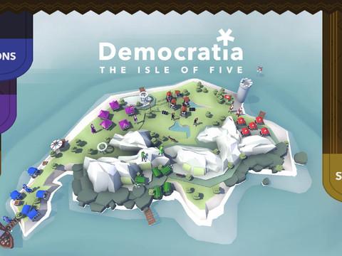 Democratia - Ein Spiel wie die Schweiz
