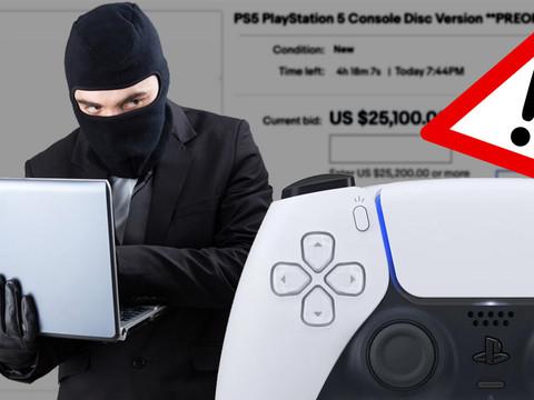 Warnung vor der Playstation 5 Abzocke! Phishing und Fake-Shops im Internet