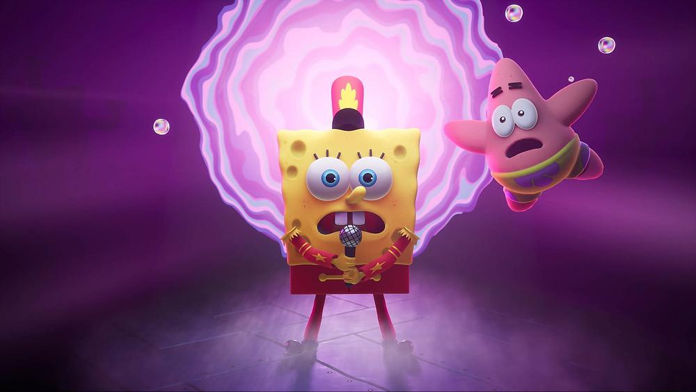 SpongeBob SquarePants The Cosmic Shake Xbox One PS4 Switch