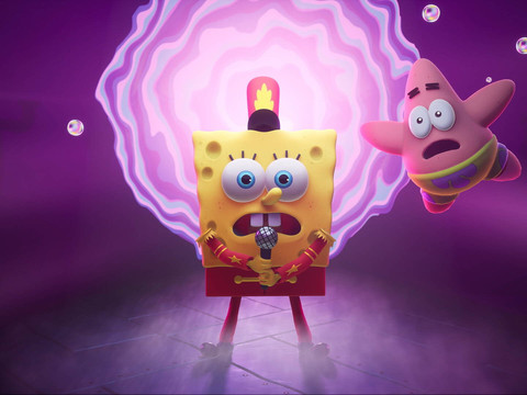 SpongeBob SquarePants: The Cosmic Shake angekündigt