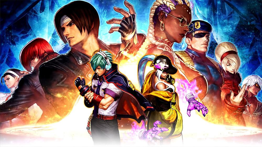 The King of Fighters XV gamescom trailer KoF 15 SNK