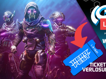 The(G)net LIVE: Destiny 2 S15 & HeroFest Ticket- & Spiel Verlosung!