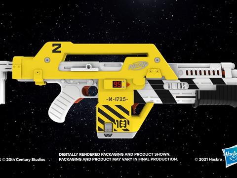 Hasbro stellt Aliens Pulse Rifle NERF Gun vor