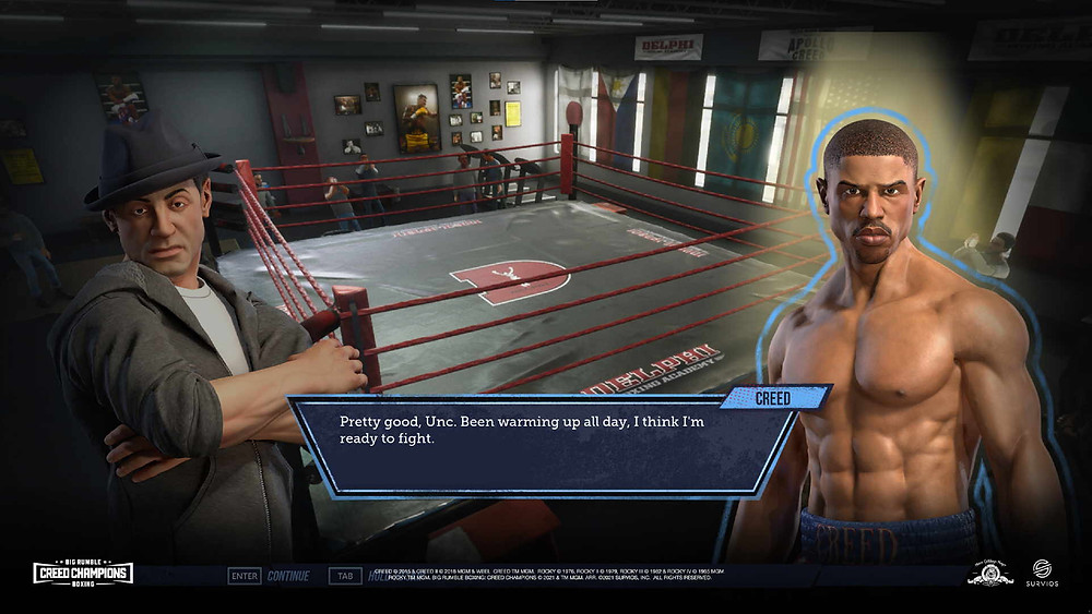 Big Rumble Boxing Creed Champions Test Review Xbox Series