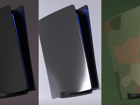 Erste Custom Faceplates für PS5 verfügbar