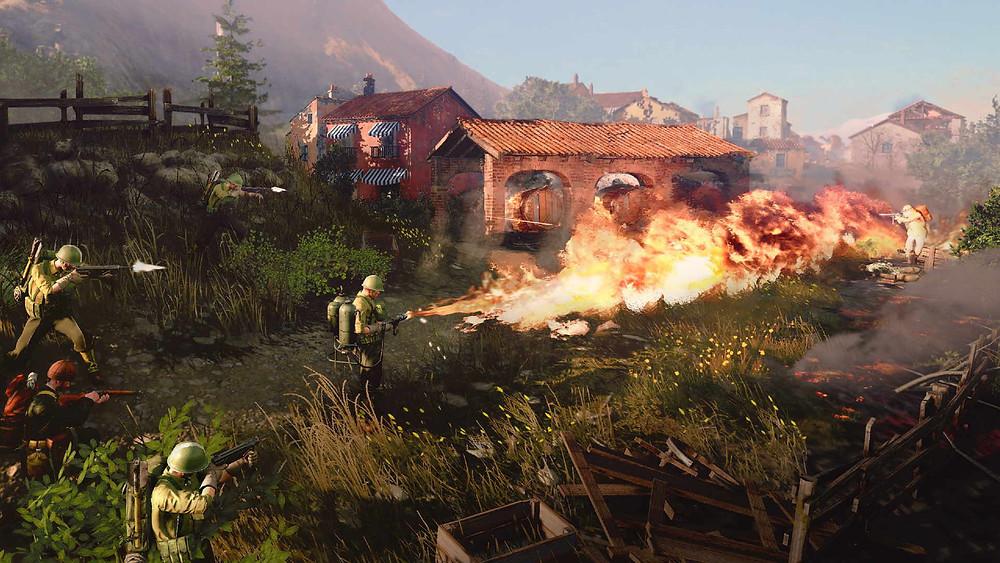 Company of Heroes 3 Gameplay Screenshots