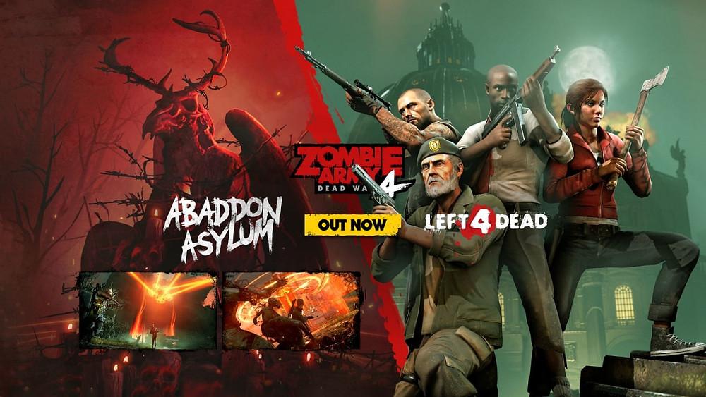 Zombie Army 4 Dead War Abaddon Asylum Left 4 Dead DLC