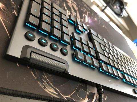 Logitech G815 RGB-Keyboard im Test