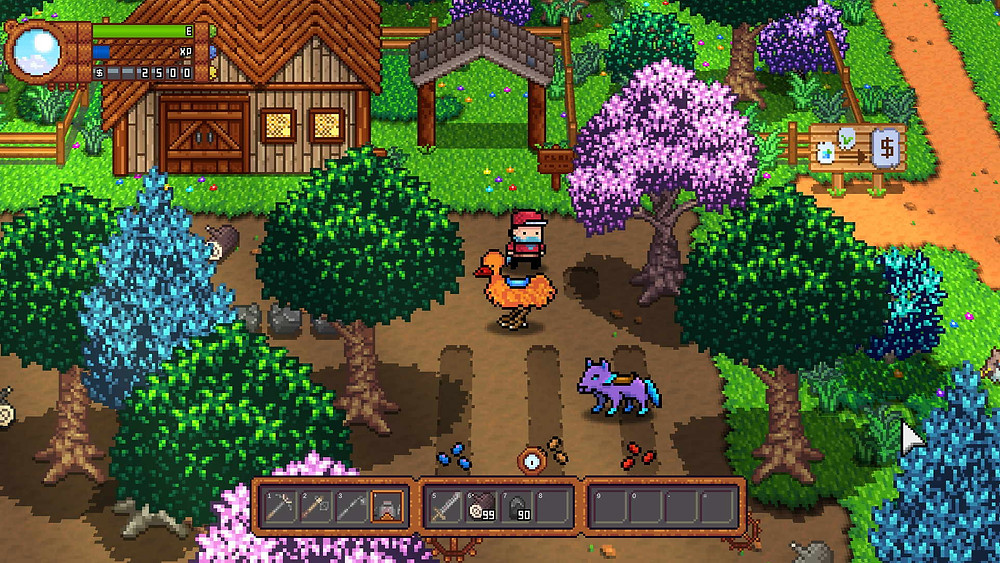 Monster Harvest Test Review PS4 Nintendo Switch