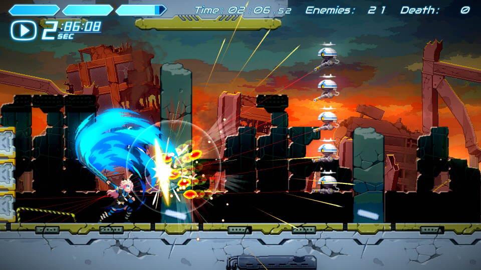 Cogen Sword of Rewind Gameplay Playstation
