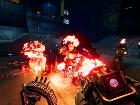 Turbo Overkill - brutaler Cyberpunk FPS erscheint 2022 für PC und Konsolen