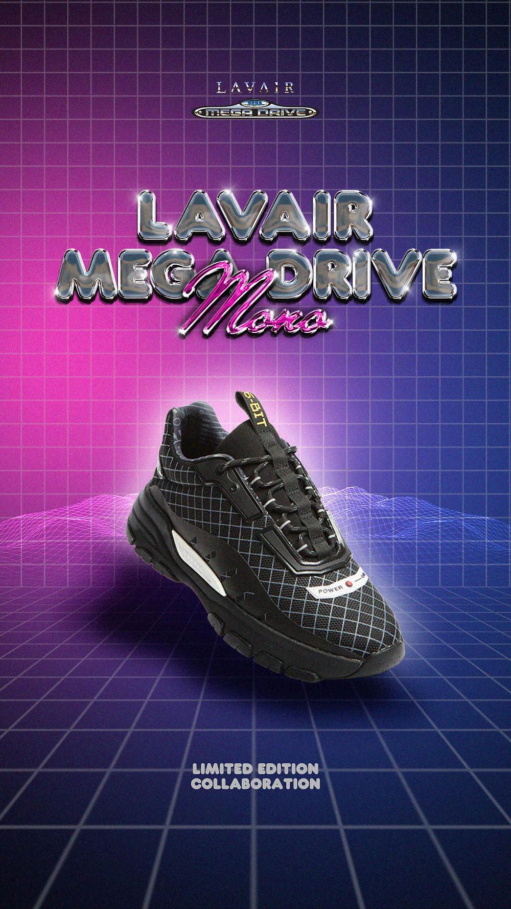 Lavair Sega Mega Drive Mono Sneaker