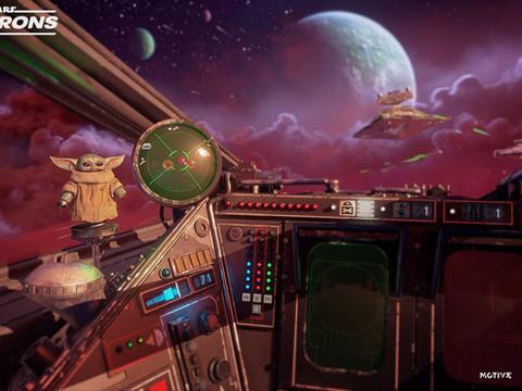 "Star Wars Squadrons kriegt ""Baby-Yoda"" Update"