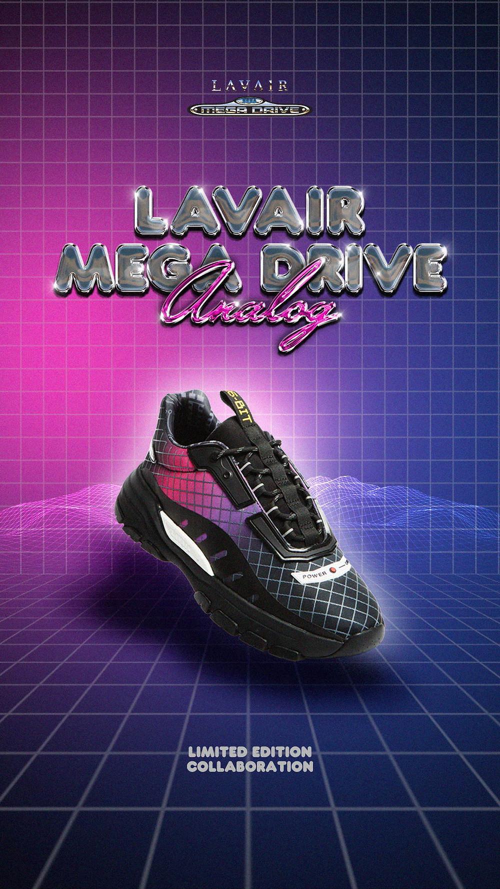 Lavair Sega Mega Drive Analog Sneaker