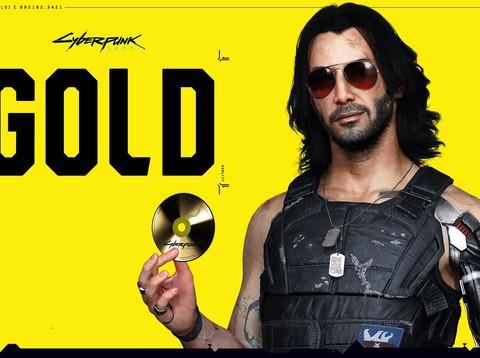 Cyberpunk 2077 erreicht Gold-Status
