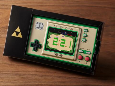Zelda 35th Anniversary Game & Watch von Nintendo vorgestellt