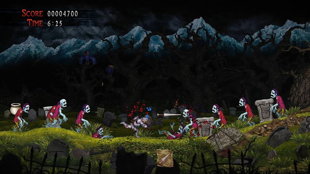 Ghosts 'n Goblins Resurrection Screenshot