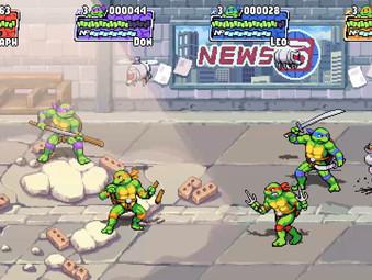 Dotemu arbeitet an Teenage Mutant Ninja Turtles: Shredder's Revenge