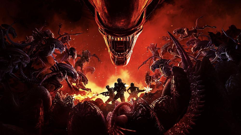 Aliens Fireteam Elite Xbox Series Playstation Xenomorph