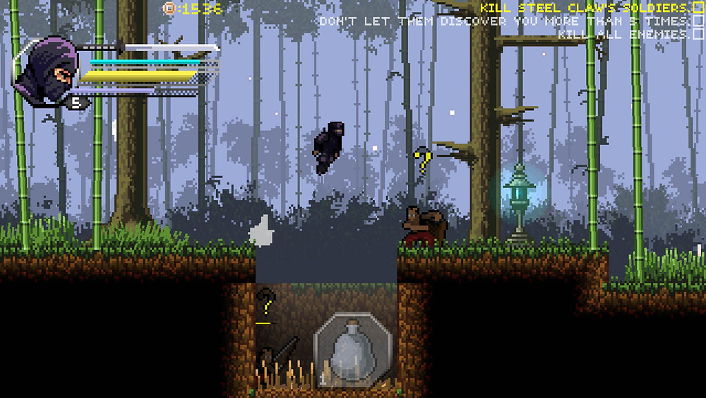 within the blade pixel ninja action game