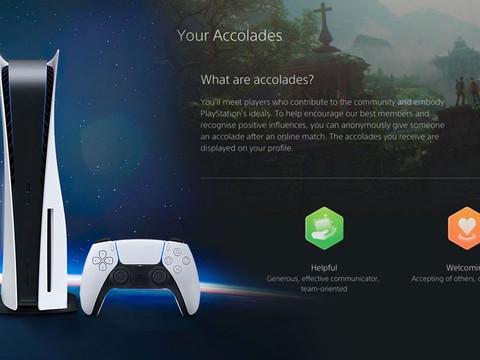 Neues Accolades System der PS5 soll positives Verhalten fördern