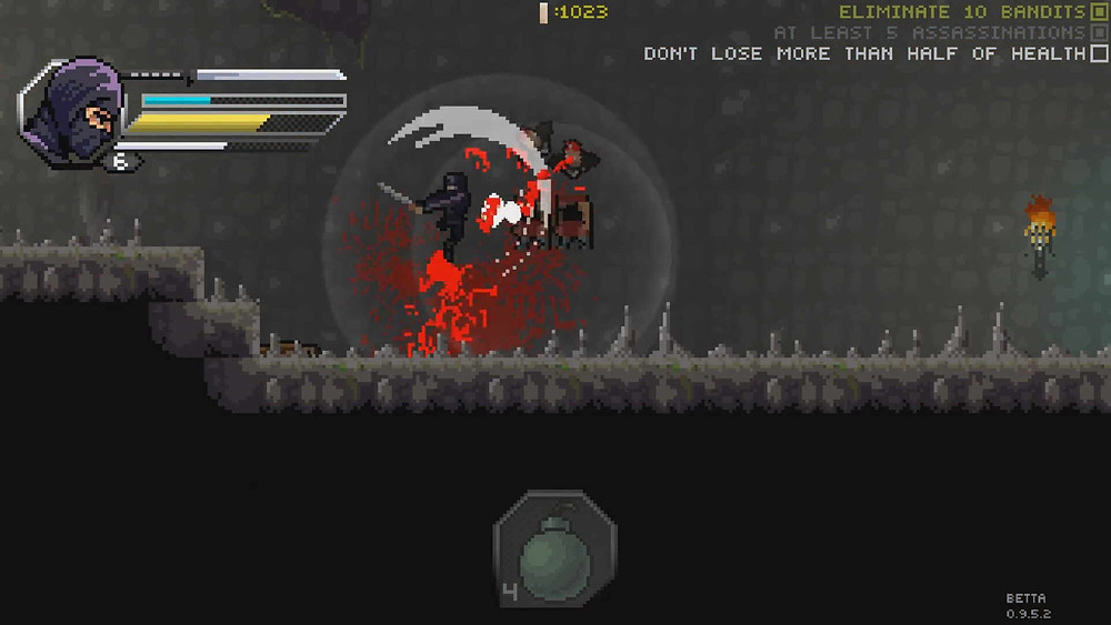 Within the Blade Pixel Shinobi Test Review Playstation Xbox Switch