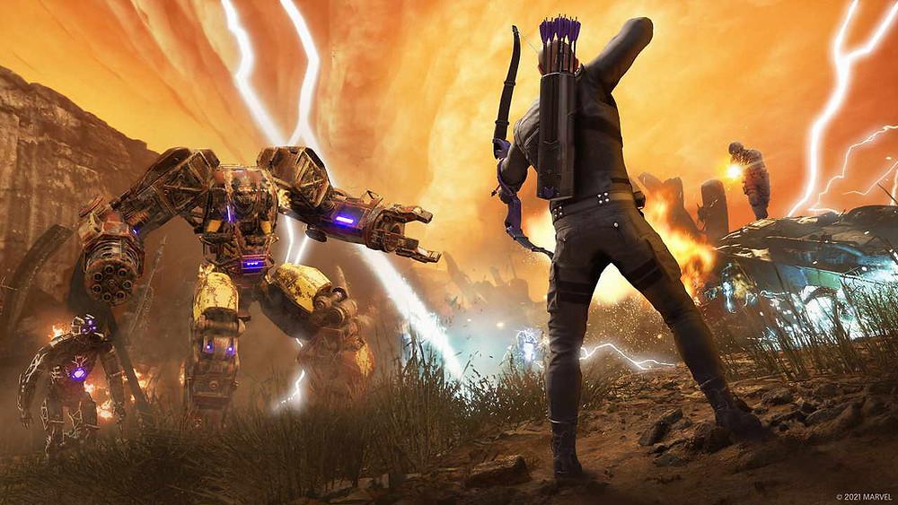 Marvel's Avengers Hawkeye DLC Review Test