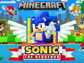 Sonic DLC für Minecraft erschienen