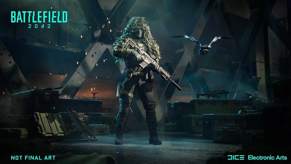 Battlefield 2042 character