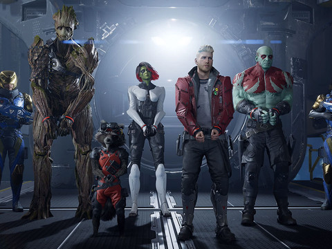 Square-Enix arbeitet an Marvel's Guardians of the Galaxy
