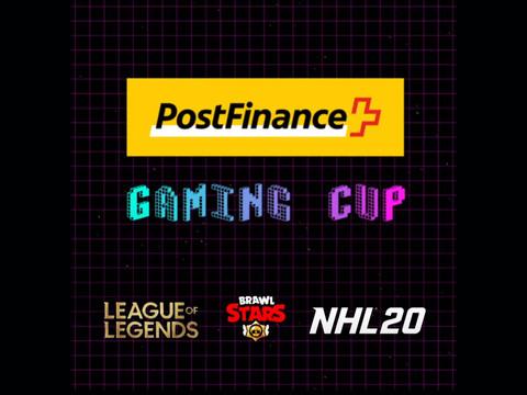 Startschuss zum PostFinance Gaming Cup