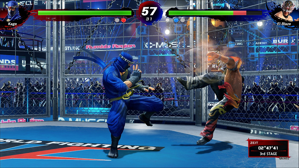 Virtua Fighter 5 Ultimate Showdown Playstation 4 Test Testbericht Review