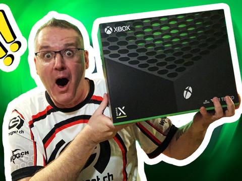 Microsoft hat uns eine Xbox Series X geschickt!