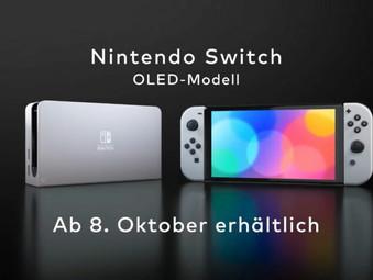 Neues Modell: Nintendo Switch OLED ab Oktober 2021 erhältlich