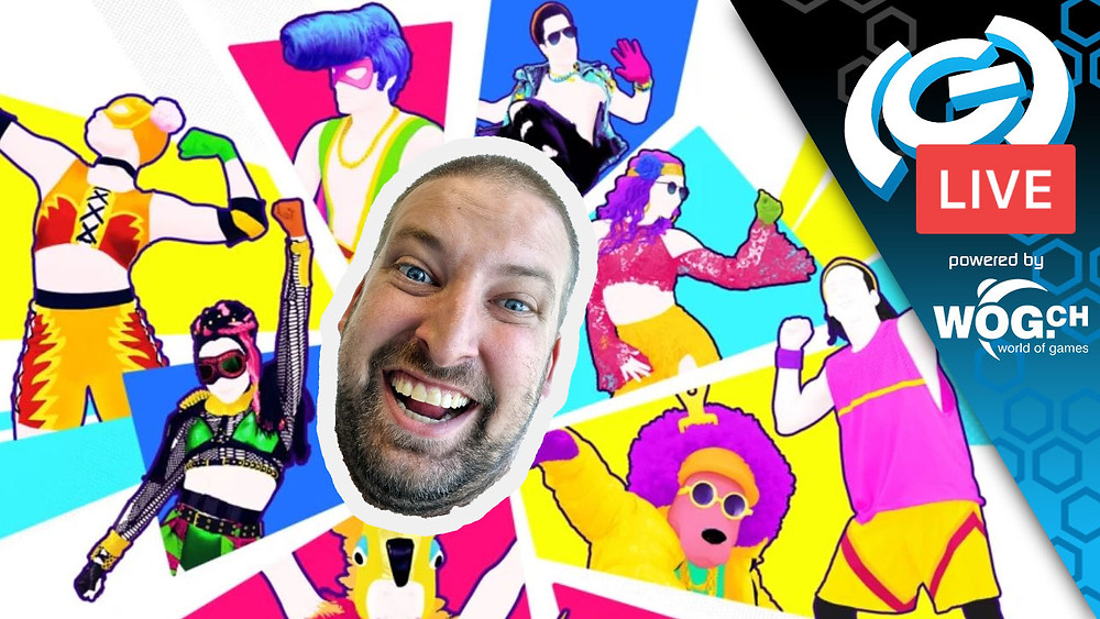 The(G)net Live Stream Twitch Just Dance 2021