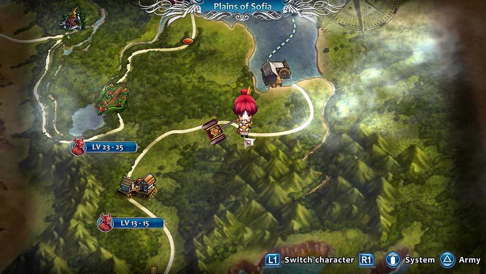 Empires of Angels IV Testbereicht Test Review PS4