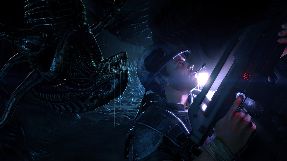 Aliens Colonial Marines Retro Test Review Xbox PC