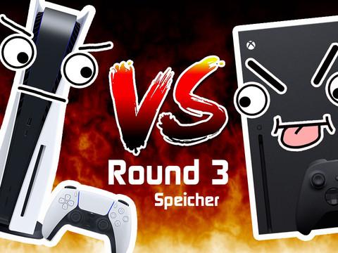 Xbox Series X vs. PS5 - Kampf der NextGen-Giganten: Teil 3 - Speicherlösung
