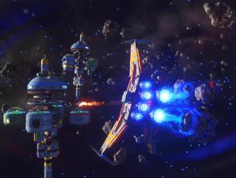 Rebel Galaxy Outlaw jetzt für Xbox und PS4 erhältlich