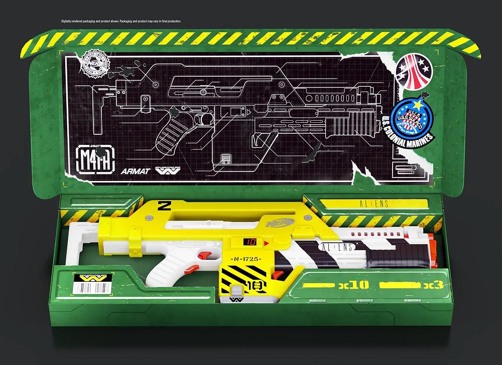 Aliens M41A Pulse Rifle Nerf Gun Waffe