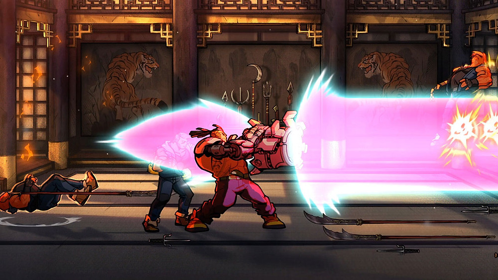 Streets of Rage 4 Test Testbericht Review Mr. X Nightmare DLC