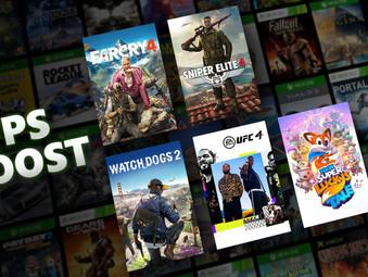 Xbox Series ab sofort mit FPS Boost für abwärtskompatible Spiele